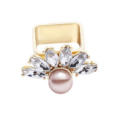 Gyűrűk Divat / Személyiség Hétköznapi Ékszerek Ötvözet Női Midi gyűrűk 1db,Egy méret Aranyozott