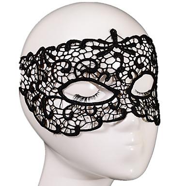 1db Csipke Ünnepi dekoráció fél maszk Divat Menő