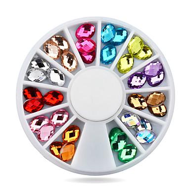 1 pcs Biżuteria do paznokci Klasyczny Słodkie Codzienny Nail Art Design / Akrylowy