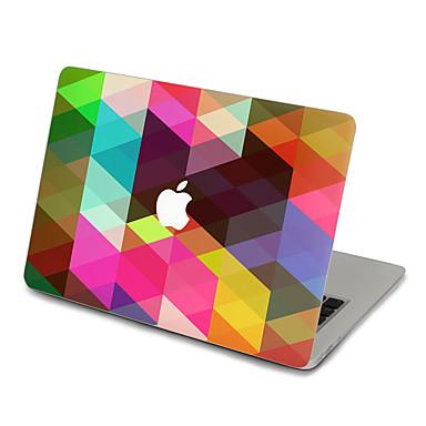 1개 스킨 스티커 용 스크래치 방지 기하학 울트라 씬 무광 PVC MacBook Pro 15'' with Retina MacBook Pro 15'' MacBook Pro 13'' with Retina MacBook Pro 13'' MacBook