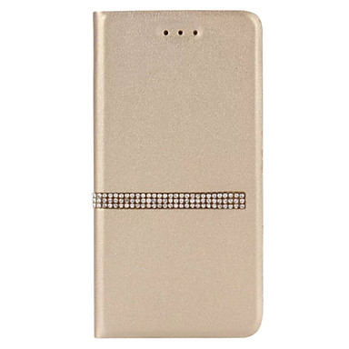 Kılıf Na Samsung Galaxy S7 edge S7 Etui na karty Z podpórką Flip Pełne etui Solid Color Twarde Skóra PU na S7 edge S7 S6 edge S6