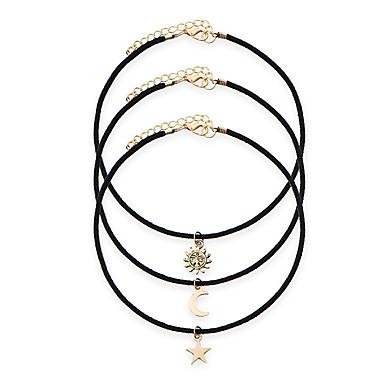 Női Rövid nyakláncok / Nyaklánc medálok / Tattoo Choker - Arannyal bevont Tetoválás, Vintage, Európai Arany Nyakláncok Kompatibilitás Parti, Hétköznapi