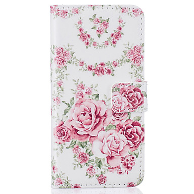 Plus A Resistente Plus iPhone iPhone di Porta supporto pelle Fiore sintetica 7 Plus carte Apple decorativo 05283092 6s 7 Per iPhone Custodia 7 portafoglio per credito Integrale 7 Con iPhone iPhone qC0YwCU