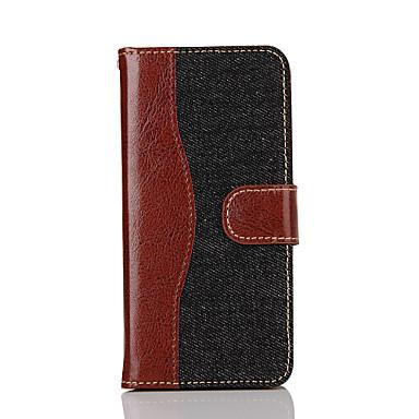 Mert iPhone 7 tok / iPhone 7 Plus tok Pénztárca / Kártyatartó / Other Case Teljes védelem Case Egyszínű Kemény Műbőr AppleiPhone 7 Plus /