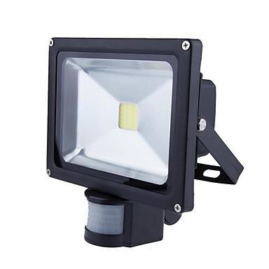 1db 20 W LED projektorok Érzékelő Vízálló Kültéri világítás Meleg fehér Hideg fehér 85-265V
