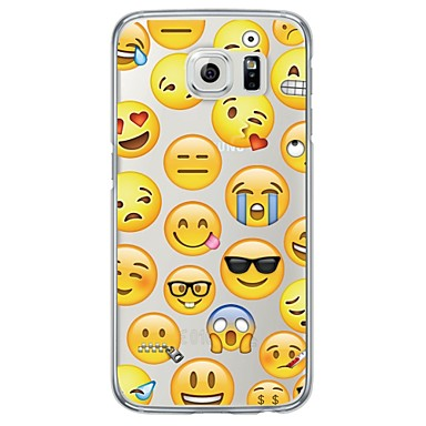 Mert Samsung Galaxy S7 Edge Ultra-vékeny / Áttetsző Case Hátlap Case Csempe Puha TPU SamsungS7 edge / S7 / S6 edge plus / S6 edge / S6 /