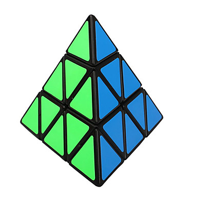 Rubik's Cube shenshou Pyramid 3*3*3 Smooth Speed Cube Magic Cube Puzzle Cube Professional Level Speed New Year Children's Day Gift