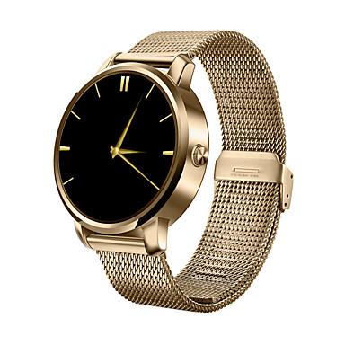 זול שעונים חכמים-חכמים שעונים ל iOS / Android עמיד במים טיימר / שעון עצר / מד פעילות / מעקב שינה / מוניטור קצב לב / שיחות ללא מגע יד / שליטה במדיה / שליטה בהודעות / שליטה במצלמה / מצאו את המכשירשלי