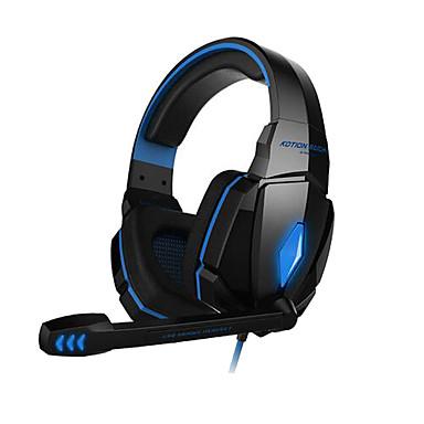 KOTION EACH G4000 Sobre o ouvido Bandana Com Fio Fones Plástico Games Fone de ouvido Isolamento de ruído Fone de ouvido