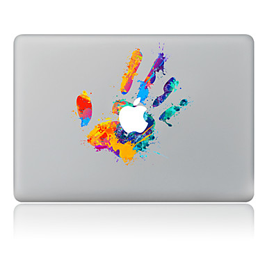 1개 스킨 스티커 용 스크래치 방지 유화 패턴 PVC MacBook Pro 15'' with Retina / MacBook Pro 15'' / MacBook Pro 13'' with Retina / MacBook Air 13'' / MacBook Air 11'' / MacBook 12''