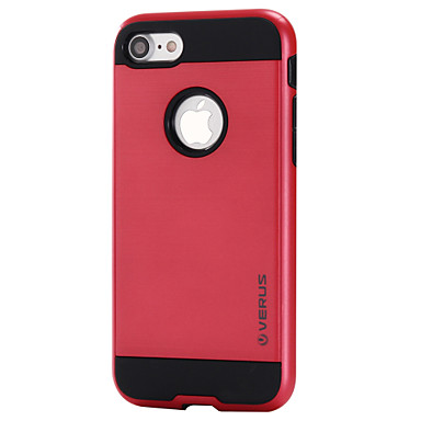 케이스 제품 Apple iPhone 7 Plus iPhone 7 카드 홀더 뒷면 커버 한 색상 하드 PC 용 iPhone 7 Plus iPhone 7 iPhone 6s Plus iPhone 6s iPhone 6 Plus iPhone 6
