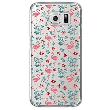 케이스 제품 Samsung Galaxy Samsung Galaxy S7 Edge 투명 패턴 뒷면 커버 동물 소프트 TPU 용 S7 edge S7 S6 edge plus S6 edge S6 S5 S4