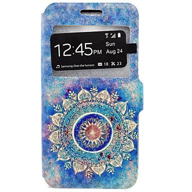 Kılıf Na Samsung Galaxy Samsung Galaxy Etui Etui na karty Z podpórką Pełne etui Mandala Twarde Skóra PU na J7 J5 J3 (2016) J3