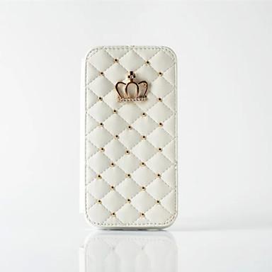 Case Kompatibilitás Apple iPhone X iPhone 8 iPhone 5 tok iPhone 6 iPhone 6 Plus Kártyatartó Pénztárca Strassz Héjtok Mértani formák Kemény