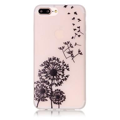 용 아이폰7케이스 / 아이폰7플러스 케이스 / 아이폰6케이스 야광 / 패턴 케이스 뒷면 커버 케이스 민들레 소프트 TPU Apple아이폰 7 플러스 / 아이폰 (7) / iPhone 6s Plus/6 Plus / iPhone 6s/6 /