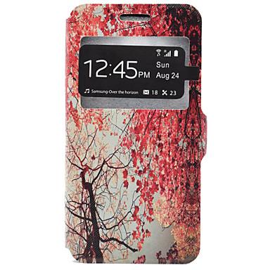 Case Kompatibilitás Samsung Galaxy Samsung Galaxy tok Kártyatartó Állvánnyal Héjtok Fa Kemény PU bőr mert J7 J5 J3 (2016) J3