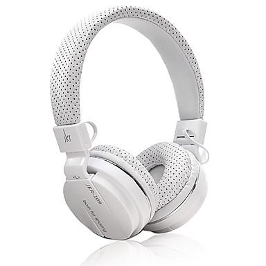 JKR JKR-102 A fülön Fejpánt Vezetékes Fejhallgatók Dinamikus Műanyag Mobiltelefon Fülhallgató Zajszűrő Mikrofonnal A hangerőszabályzóval