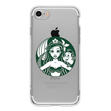 Case Kompatibilitás Apple iPhone X iPhone 8 Plus iPhone 7 iPhone 7 Plus iPhone 6 Minta Hátlap Rajzfilm Puha TPU mert iPhone X iPhone 8