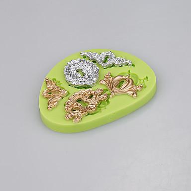 kulcslyuk alakú szilikon penész fondant torta dekorációs eszközök csokoládé cukorka moldcolor véletlenszerű