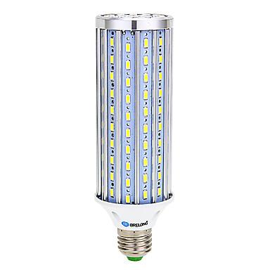 Brelong e14 / e27 / b22 25w led corn világítás 140 smd 5730 2500 lm meleg fehér / hideg fehér ac 85-265 v 1 db