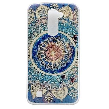 Mert LG tok IMD Case Hátlap Case Mandala Puha TPU LG LG K10
