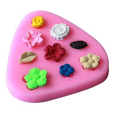 Lód Czekoladowy Pizza Placek Cupcake Ciasteczka Tort Chleb Silikonowy Ekologiczne DIY Wysoka jakość 3D Narzędzie do pieczenia Nieprzylepny