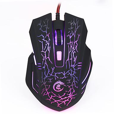 Vezetékes Gaming Mouse DPI állítható Backlit 1200/1600/2400/3200/5500