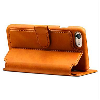 Kompatibilitás iPhone X iPhone 8 iPhone 8 Plus iPhone 7 iPhone 7 Plus tokok Pénztárca Kártyatartó Állvánnyal Flip Teljes védelem Case