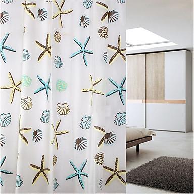 Zuhanyfüggönyök Modern PEVA Újdonság Géppel készített