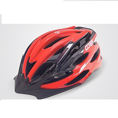 자전거 헬멧 24 통풍구 싸이클링 조절가능 도시의 산 면갑 울트라 라이트 (UL) 스포츠 PVC EPS 도로 사이클링 레크리에이션 사이클링 사이클링 / 자전거 산악 자전거