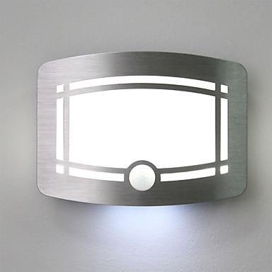 1 개 지능형 인체 유도 조명 제어 벽 램프 새로운 이국적인 작은 밤 빛