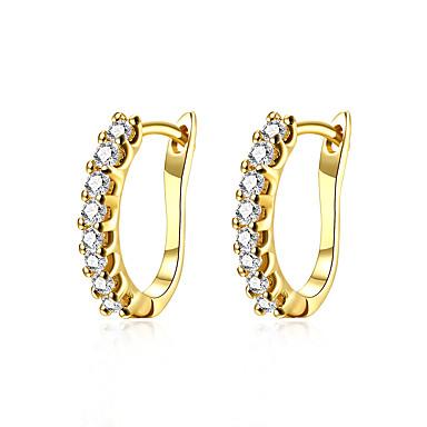 Γυναικεία Κουμπωτά Σκουλαρίκια Κοσμήματα Βασικό Επιμεταλλωμένο με Πλατίνα Επιχρυσωμένο Άλλα Κοσμήματα Χρυσό Ασημί Γάμου Πάρτι Καθημερινά