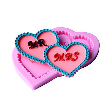 süteményformákba Kenyér Torta Keksz Cupcake Palacsinta Pizza Csokoládé Jég Szilikon Környezetbarát Nem tapad DIY Sütés eszköz 3D Jó