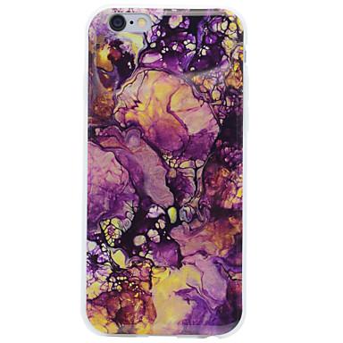 Mert IMD Case Hátlap Case Márvány Puha TPU Apple iPhone 7 Plus / iPhone 7 / iPhone 6s Plus/6 Plus / iPhone 6s/6 / iPhone SE/5s/5