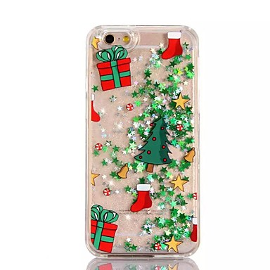 제품 iPhone X iPhone 8 iPhone 8 Plus iPhone 7 iPhone 6 아이폰5케이스 케이스 커버 플로잉 리퀴드 반투명 패턴 뒷면 커버 케이스 크리스마스 하드 PC 용 Apple iPhone X iPhone 8 Plus