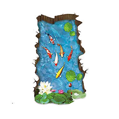 경치 벽 스티커 3D 월 스티커 데코레이티브 월 스티커 홈 장식 벽 데칼 벽 바닥