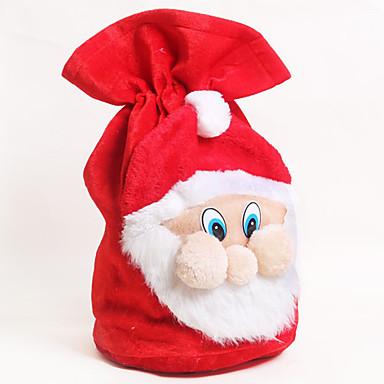 karácsonyi ajándék birtokosai dekoráció mikulás nagy zsák harisnya nagy ajándék táska ho ho karácsonyi mikulás karácsony ajándékok