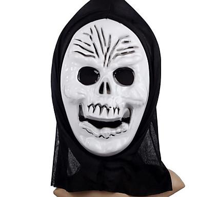 (Minta véletlenszerű) 1db halloween jelmez fél maszk halál istene lábujj doboz dísz