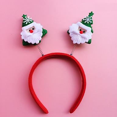 2db karácsonyi fejpánt fej csat karácsonyi ajándék karácsonyi díszek karika diákok (stílus véletlenszerű)