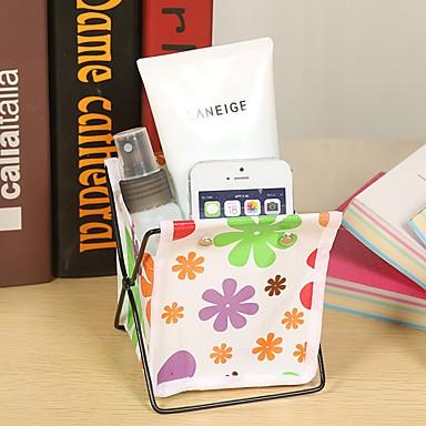 Uchwyt przechowywania pulpit plamki cute cartoon stół długopis (losowe kolory)