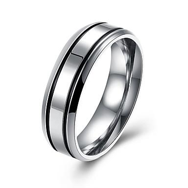 للرجال خاتم والمجوهرات الفولاذ المقاوم للصدأ الصلب التيتانيوم مجوهرات من أجل حزب يوميا فضفاض