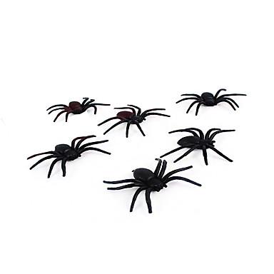 (Színes random) 1db halloween kísértetjárta házban dekoráció bar KTV prop jelenet elrendezése pókselyem és pókháló