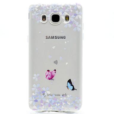 Case Kompatibilitás Samsung Galaxy J7 Prime J5 Prime Minta Hátlap Pillangó Puha TPU mert J7 (2016) J7 Prime J5 (2016) J5 Prime J3 (2016)