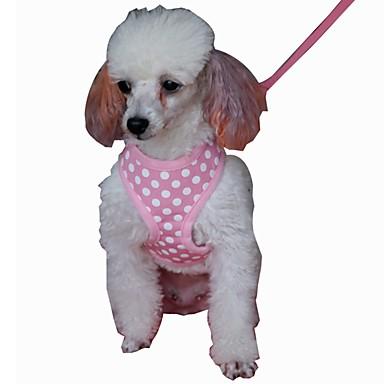 Câine Hamuri Lese Ajustabile / Retractabil Respirabil Απαλό Siguranță Alergat Γιλέκο Casual Cosplay Mată Material Textil Plasă Negru