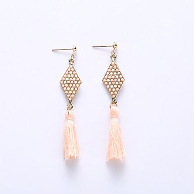 여성 드랍 귀걸이 귀걸이 보석류 유럽의 패션 합금 Geometric Shape 보석류 제품 결혼식 파티 일상