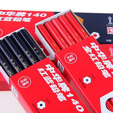 zhonghua piros kék speciális ceruzával