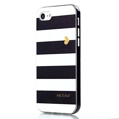용 아이폰7케이스 / 아이폰7플러스 케이스 충격방지 / 패턴 케이스 뒷면 커버 케이스 라인 / 웨이브 소프트 TPU Apple 아이폰 7 플러스 / 아이폰 (7)