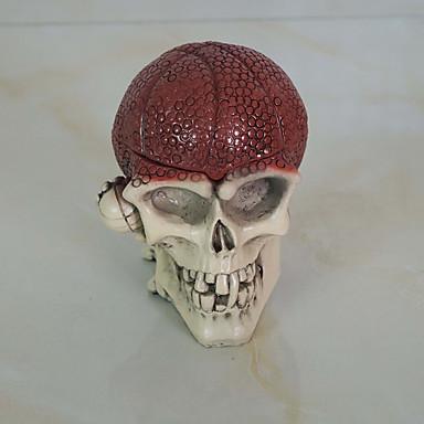 1szt halloween rekwizyty taneczne ozdoby zabawy Szkielet głowy ozdoby popielniczka