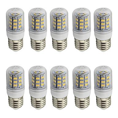 4 E26/E27 LED 콘 조명 T 48 SMD 2835 280 lm 따뜻한 화이트 / 차가운 화이트 장식 AC 85-265 / 9-30 V 10개