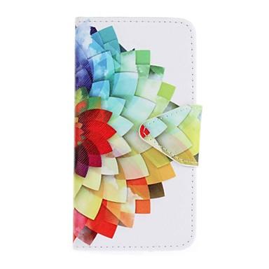 Kılıf Na Samsung Galaxy Etui na karty Portfel Z podpórką Wzór Pełne etui Kwiaty Twarde Skóra PU na J5 (2016) J5 J3 (2016) J3